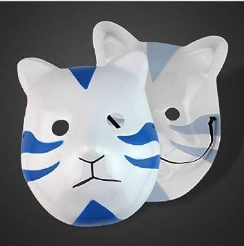 Naruto Shippuden cosplay Itachi Anbu máscara del estilo del gato