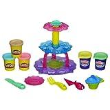 play dough cupcake tower - Play-Doh Sweet Shoppe Cupcake Tower