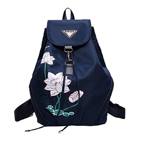 womens-backpacks-casual-flower-printing-travel-school-bags-blue