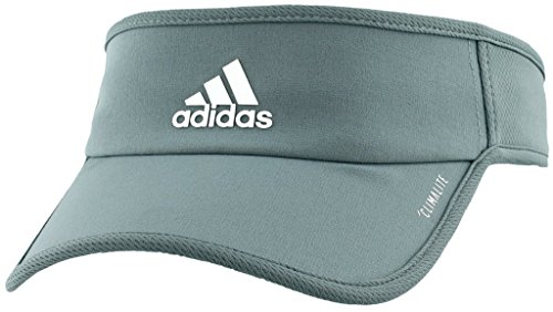 (adidas Women's Superlite Visor, raw green/white, One Size)