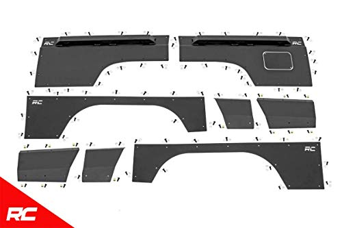 Rough Country Body Armor Quarter Panel Compatible w/ 1997-2001 Jeep Cherokee XJ Front Rear Upper Lower 10581