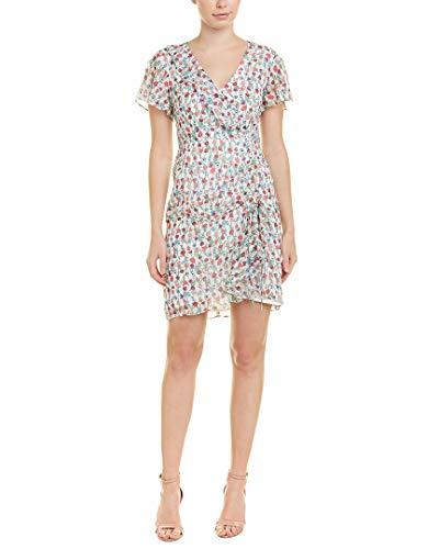 Nanette Lepore Womens Silk Sheath Dress, 6, White - Nanette Lepore Silk Skirt