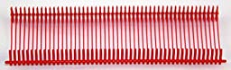 """Amram 1"""" Red Standard Attachments-5,000pcs, 50/Clip. For use with all Amram Brand Standard Tagging Guns. Compatible for use with other Standard tagging guns."""