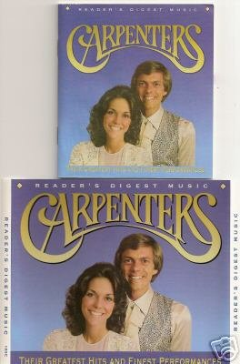 Reader's Digest Carpenters Their Greatest Hits and Finest Performances