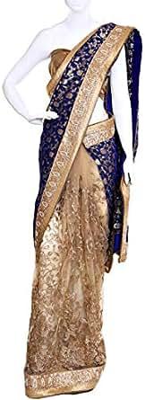 Sarees For Women - Navy Blue