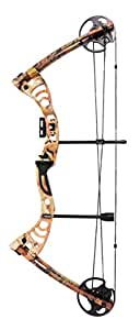 Leader Accessories Compound Bow 30-55lbs Archery Hunting Equipment with Max Speed 296fps (Autumn Camo.)