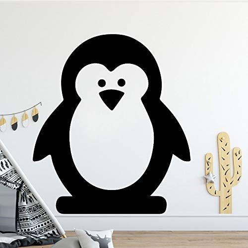 fancjj Etiqueta engomada Linda de la Pared del Vinilo del pingüino ...