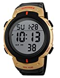 Military Stylish Waterproof Watch,Fashion Sport Watch for Men Women with Durable Soft Rubber Band