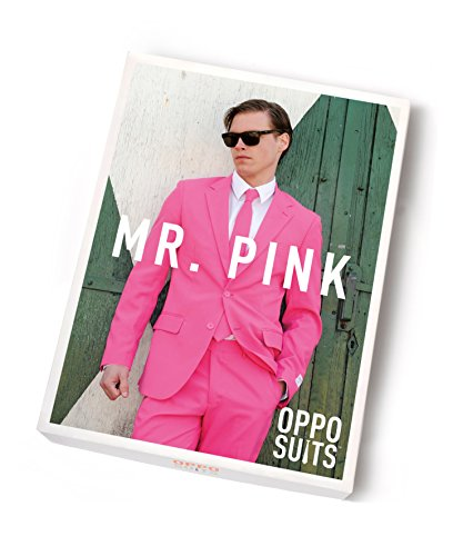 Mens-Solid-Color-Bachelor-Crazy-Party-Costume-Suit-Includes-Jacket-Pants-and-a-Matching-Tie