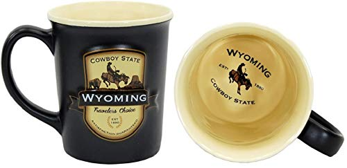 - Americaware SEMWYO01 Wyoming Emblem Mug
