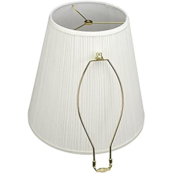 lampshade 9 top diameter x 16 bottom diameter x 15 slant height with washer. Black Bedroom Furniture Sets. Home Design Ideas