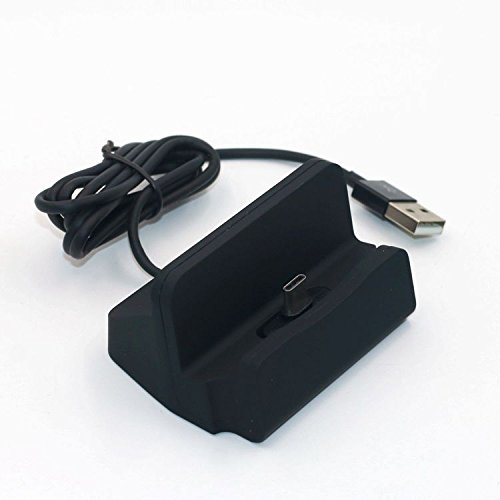 USB Typ C Kabel schwarz K-S-Trade Dockinsgstation f/ür Xiaomi Mi Max 3 Ladestation Dock Ladeger/ät Docking Station inkl