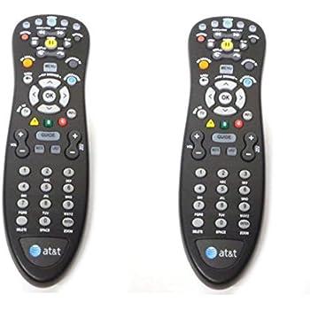 Amazon att u verse tv point anywhere rf remote control kit 2 lot pair set genuine att u verse uverse s10 s4 standard ir sciox Gallery