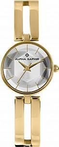 Alpha Saphir Women's Casual Watch Stainless Steel Strap - 346D