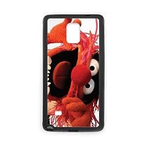 Samsung Galaxy Note 4 Cell Phone Case Black MUPPETS KERMIT PIGGY FUN cjde