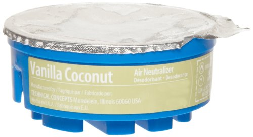 Rubbermaid Commercial FG750328 Refill for TC Gel Automatic Air Freshener System, Vanilla Coconut by Rubbermaid Commercial Products