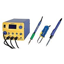 Hakko FM206-STA - Hakko FM-206 Rework Station with Soldering Iron, Hot Tweezer and Hot Air Handpiece