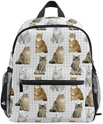 リュック 猫 柄 子供 キッズ バッグ 軽量 大容量 通学 遠足 散歩 男の子 女の子 入学 お祝いプレゼント