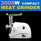 New 3000W/ 3.4HP Compact Electric Meat Grinder