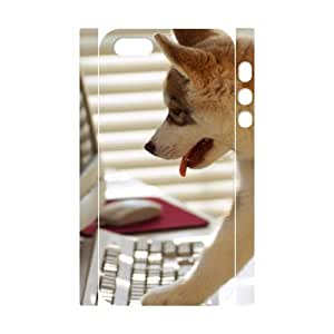 3D IPhone 5,5S Case Funny 172, IPhone 5,5S Case Funny, [White]