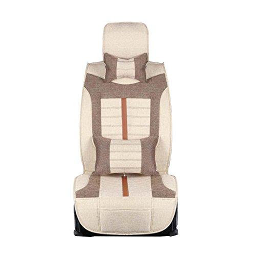 GOUGOU Car cushion / seasons linen pad / Universal five seats cushion by YANQI