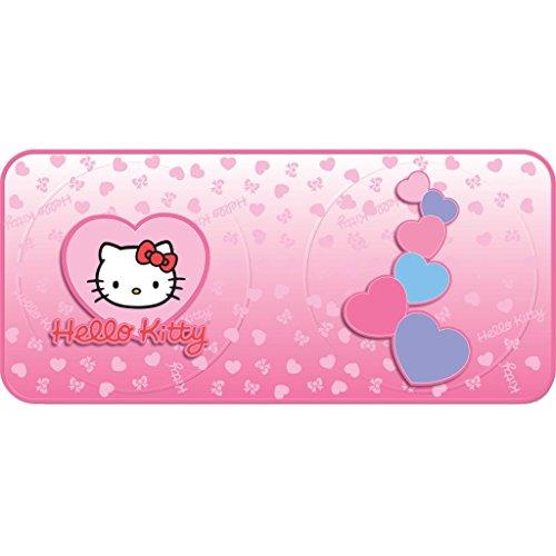 Hello Kitty Hearts Universal Size Twist Sunshade Car Sun Shade