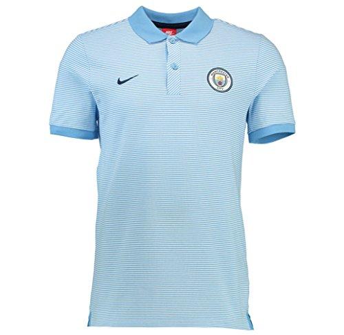 Nike MCFC M NSW GSP PQ AUT Polo Manga Corta Manchester City ...