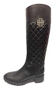 Amazon.com | Tory Burch Melinda Quilted Leather Riding Boot | Shoes : tory burch quilted boots - Adamdwight.com