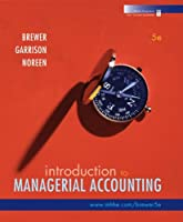 Introduction to Managerial Accounting, 5th Edition Front Cover