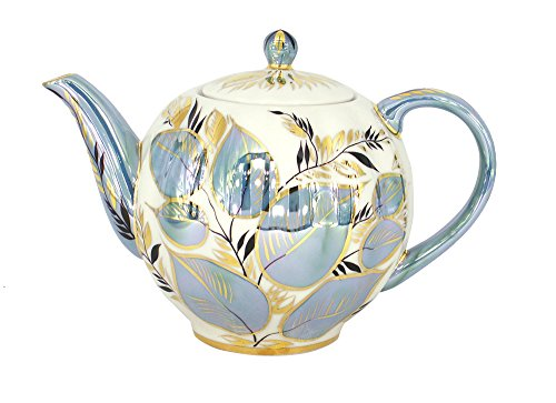 Lomonosov Porcelain Tea Pot Moonlight 3 Cup 20 ounces 600 milliliters