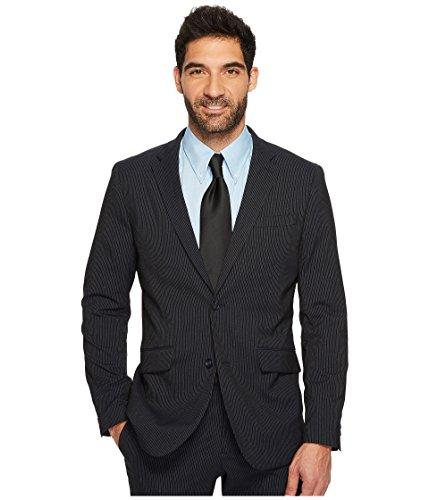 Perry Ellis  Men's Slim Fit Subtle Pinstripe Suit Jacket Navy Medium ()