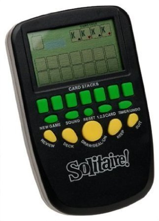 - Solitaire Hand Held Electronic Arcade Game