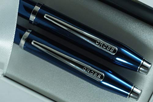 Cross Century II Limited Series, Pearlescent Metallic Blue selectip Gel Ink Rollerball Pen and Ballpoint Pen. by A.T. Cross (Image #5)