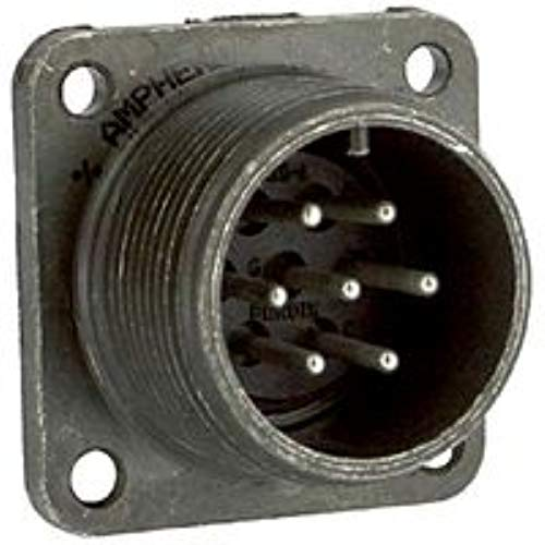 AMPHENOL MS3102E16S-1P CIRCULAR CONNECTOR, RECEPTACLE, SIZE 16S, 7 POSITION, BOX; MILITARY SPECIFICATION:MIL-DTL-5015 SERIES; CIRCULAR CONNECTOR SHELL STYLE:BOX MOUNT RECEPTACLE; NO. OF CONTACTS:7CONT