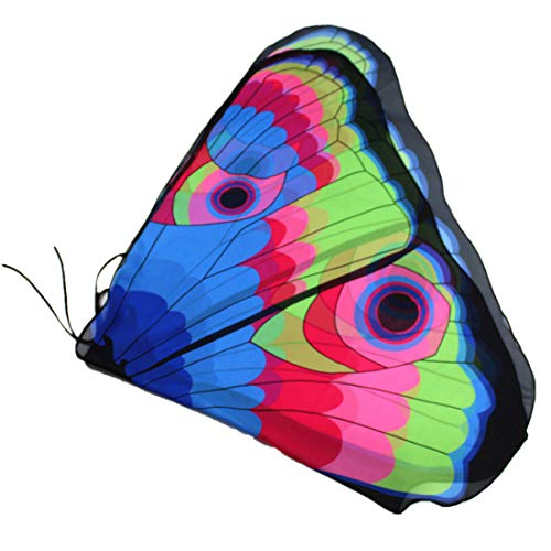 LIVEBOX Kids Monarch Butterfly Wings Shawl Cape Scarf Fabric Dance Wing Dress Up Costume Accessary (Multicolor)