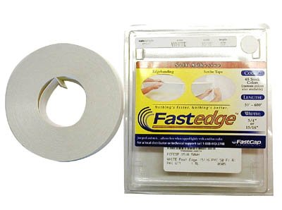 FastCap FE.SP.15//16-50.WH 15//16 x 50 FastEdge PVC Edgebanding White