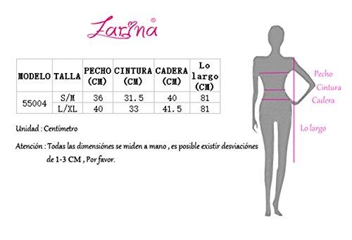 FARINA Vestidos Mujer Escote sin 55004blanco Vestido Mangas Vendaje Dress Vestido V Rayã³n Mini Bandage Bandage Bodycon para Ajustado x1xwaqr
