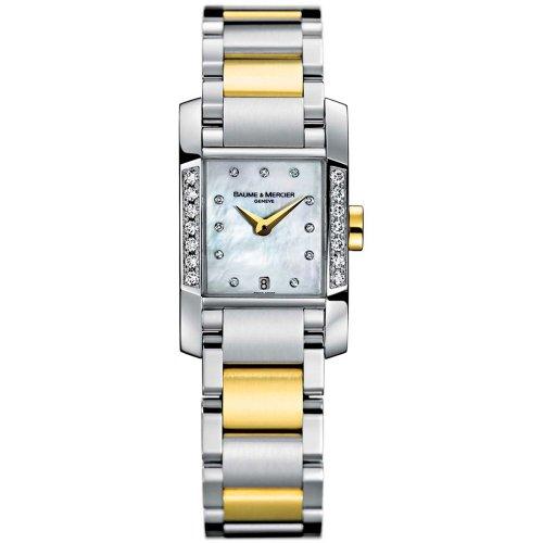 - Baume & Mercier Women's 8599 Diamant Two-Tone Diamond Watch