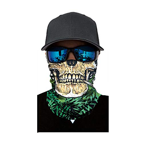 ❤️MChoice❤️Cycling Motorcycle Neck Tube Ski Scarf Face Mask Balaclava Halloween Party (D)