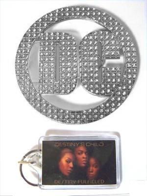 Destiny's Child Belt Buckle & Keychain Set