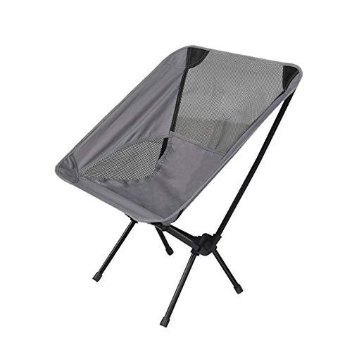 Reizen Ultralight Vouwstoel voor Outdoor Draagbare Camping Stoel met Opbergtas voor Vissen BBQ Strand Bearing 130 KG
