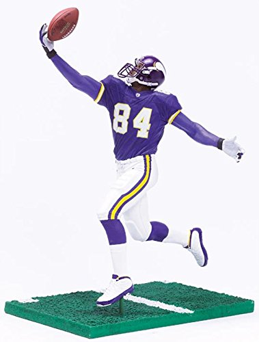 - McFarlane Toys NFL Sports Picks Series 10 Action Figure Randy Moss (Minnesota Vikings) Purple Jersey