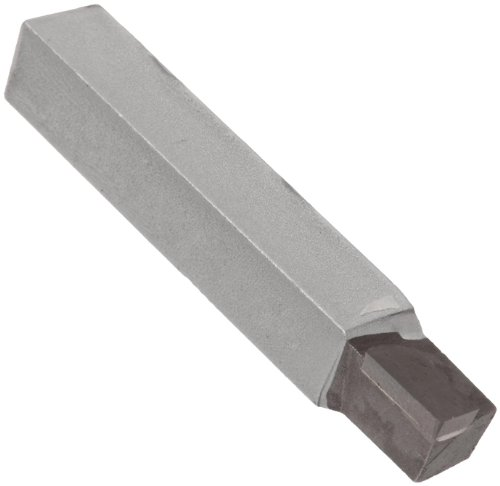 American Carbide Tool Carbide-Tipped Tool Bit for Straight Turning, Left Hand, K68 Grade, 0.375