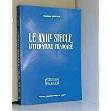 le xviie siecle, litterature francaise
