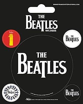 Pyramid International multicolore motivo: The Beatles sottomarino giallo Adesivi in vinile 10 x 12,5 x 1,3 cm