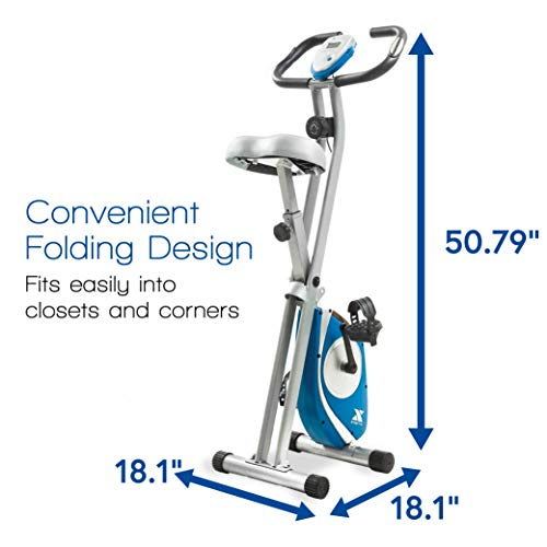 XTERRA Fitness FB150 Folding Exercise Bike, Silver by XTERRA Fitness (Image #3)
