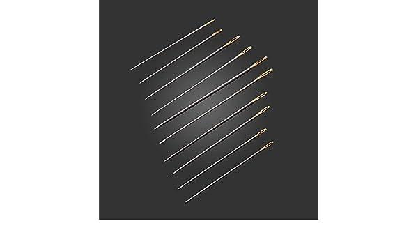Artes, manualidades y costura – 100 piezas de cola Agujas tamaño ...