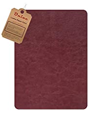 Leather Repair Patch,Self-Adhesive Couch Patch,Multicolor Available Anti Scratch Leather 8X11 Inch Peel and Stick for Sofas, car Seats Hand Bags Jackets