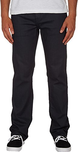Volcom Aged Indigo Solver Modern Straight Fit Jeans (33