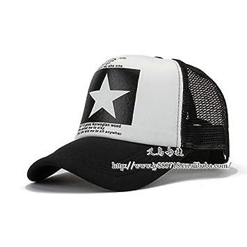 A hut Moda señaló Estrella Marca Gorra de béisbol Sombrero de ...